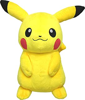 "Sanei Pokemon All Star Collection PP16 Pikachu Stuffed Plush, 13""/Medium"