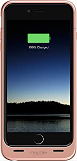 mophie Juice Pack - Protective Battery Case for iPhone 6s Plus/6 Plus (2,600mAh) (Renewed) (Rose Gold)