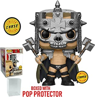 Funko Pop! WWE: Triple H Skull King CHASE Variant Limited Edition Vinyl Figure (Bundled with Pop Box Protector Case)