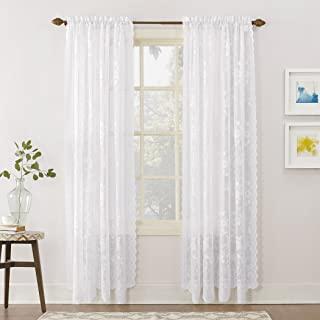 1db70406a623fa Amazon.com: Floral - Draperies & Curtains / Window Treatments: Home ...