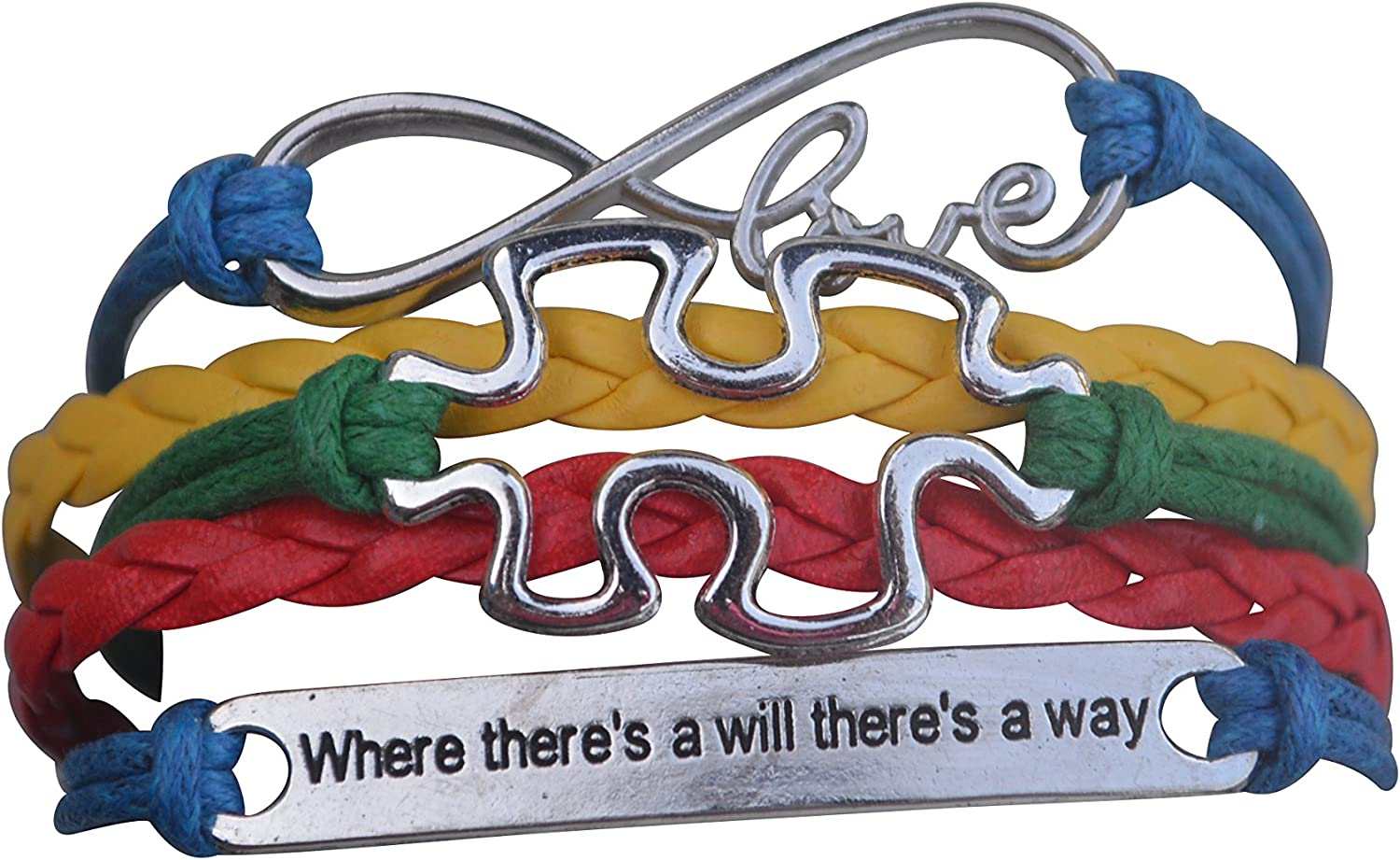 Infinity Collection Autism Ranking TOP2 Bracelet Jewelry A Max 87% OFF Awareness