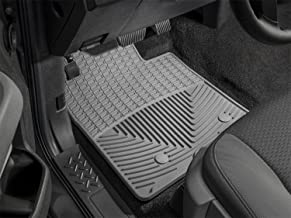 WeatherTech W3GR Trim to Fit Front Rubber Mats (Grey)
