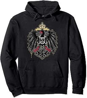 German Empire Eagle Coat Of Arms Germany Deutschland German Pullover Hoodie