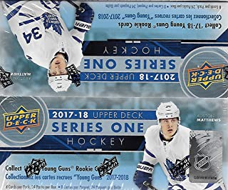 2017/18 Upper Deck NHL Hockey Series 1 Factory Sealed Unopened Retail Box