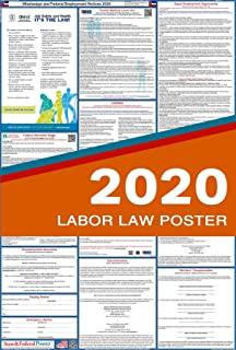 2019 Mississippi State and Federal Labor Law Poster - Laminated 27