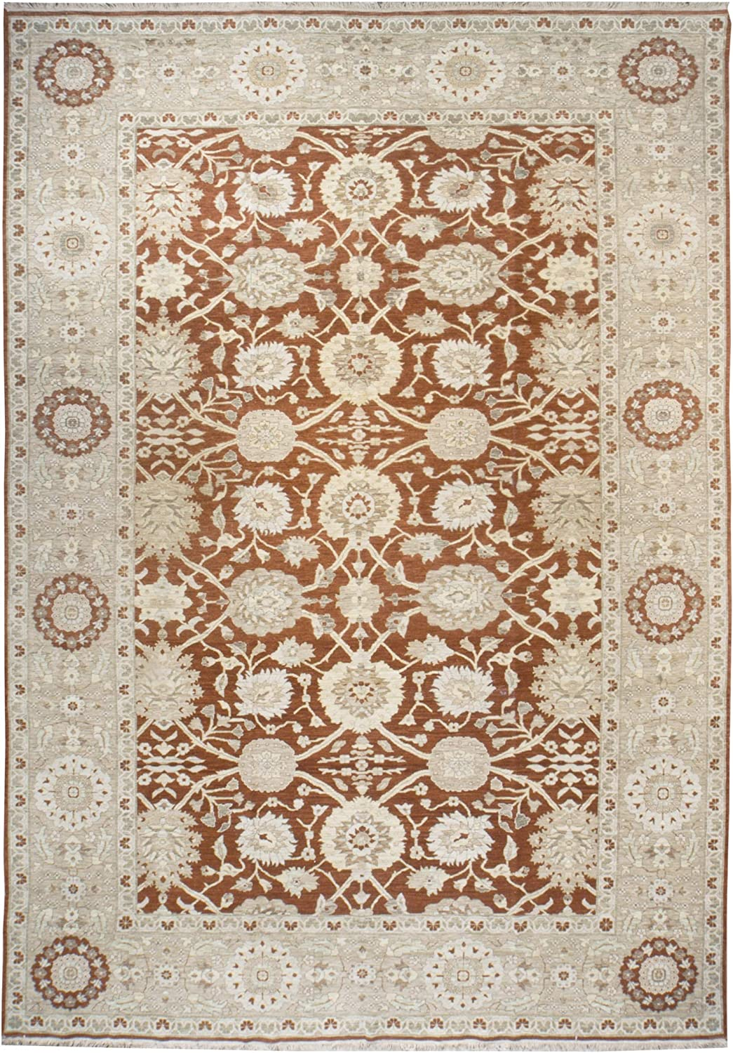 Classic Zeigler Rug Wool - 10' x Easy-to-use Over item handling 14'