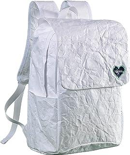 Karlek Tyvek Paper Backpack, Lightweight Weather Resistant Casual Bag for Men & Women, School Bookbag for Kids, Laptop Bag