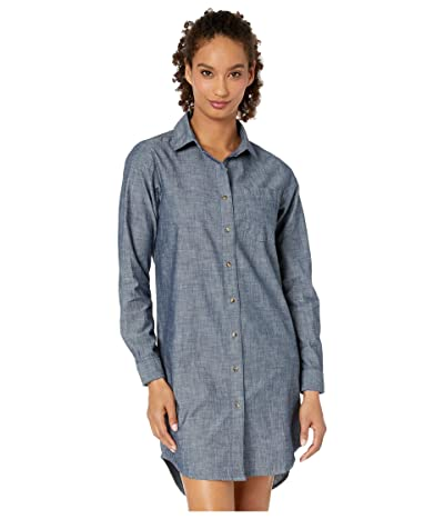 The North Face Chambray Dress (Dark Indigo Chambray) Women