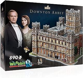WREBBIT 3D – Downton Abbey 3D Jigsaw Puzzle - 890Piece, Brown/A