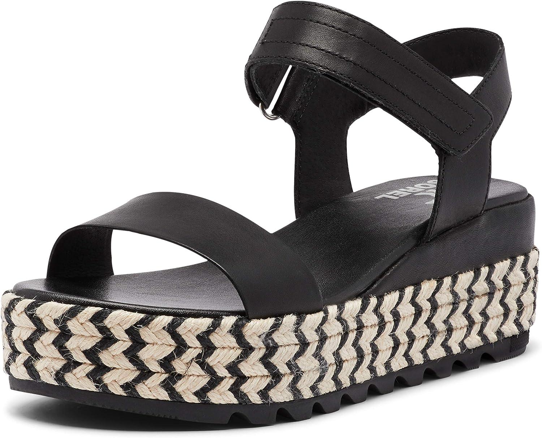 Sorel Women's New item Cameron Flatform Black - Ranking TOP4 Sandal