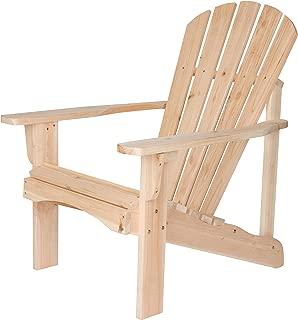 Shine Company Inc. 4617N Rockport Adirondack Chair, Natural