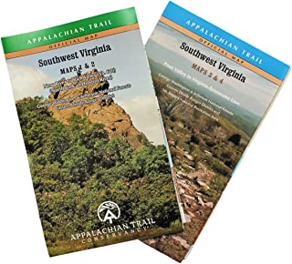 Best appalachian trail map virginia Reviews