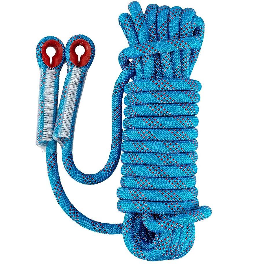 気づく急いで分注するANPHSIN クライミングロープ-12mm-10M ガイロープ 登山用 ロープ アウトドア キャンプ マジックテープ付 高強度 多目的ロープ ザイル 登山補助ロープ 防災 安全 補助 コード ロッククライミング安全ロープ 多機能安全ロープ 補助ロープ 静的ロープ 安全レスキューロープ