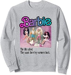 Sweat-shirt Barbie Femme, Officiel, Team Années 80 Sweatshirt