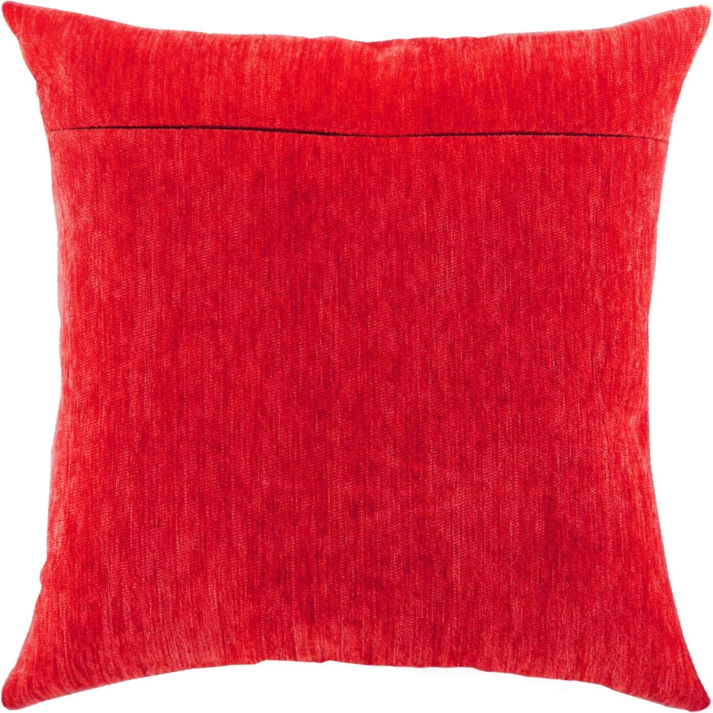with Zipper Merlot from Europe Pink Chinnelly Backing for Throw Pillow Kits 16 /× 16 inches