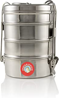 4 Tier Indian Tiffin (Large)