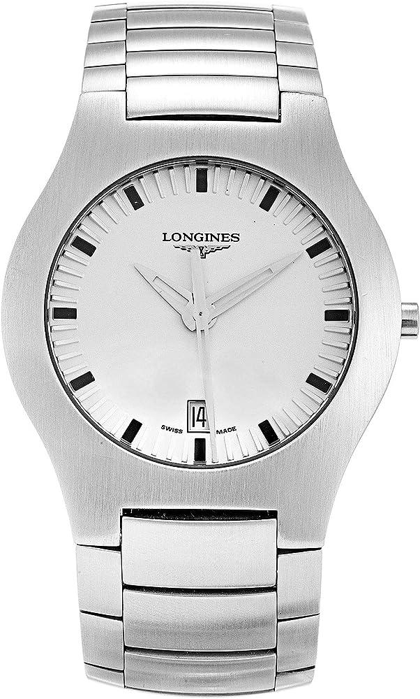 Longines orologio solo tempo per uomo , oposition in acciaio inossidabile L36174726