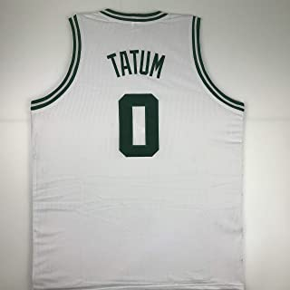 Unsigned Jayson Tatum Boston White Custom Stitched Basketball Jersey Size Men's XL New No Brands/Logos