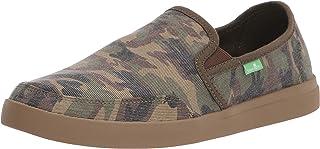 حذاء Sanuk رجالي Vagabond سهل الارتداء من القماش