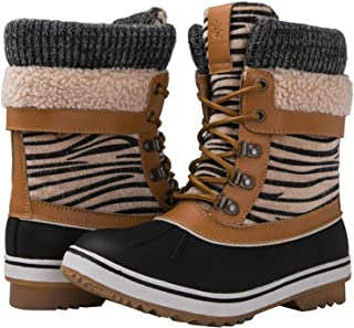 GLOBALWIN Women's Waterproof Winter Snow Boots