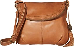 Buena Leather Small Flap Crossbody
