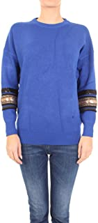 MOLLY BRACKEN Luxury Fashion Womens E1200A19COBALT Blue Sweater | Fall Winter 19