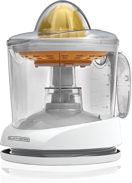 BLACK DECKER 34oz Citrus Juicer White CJ625