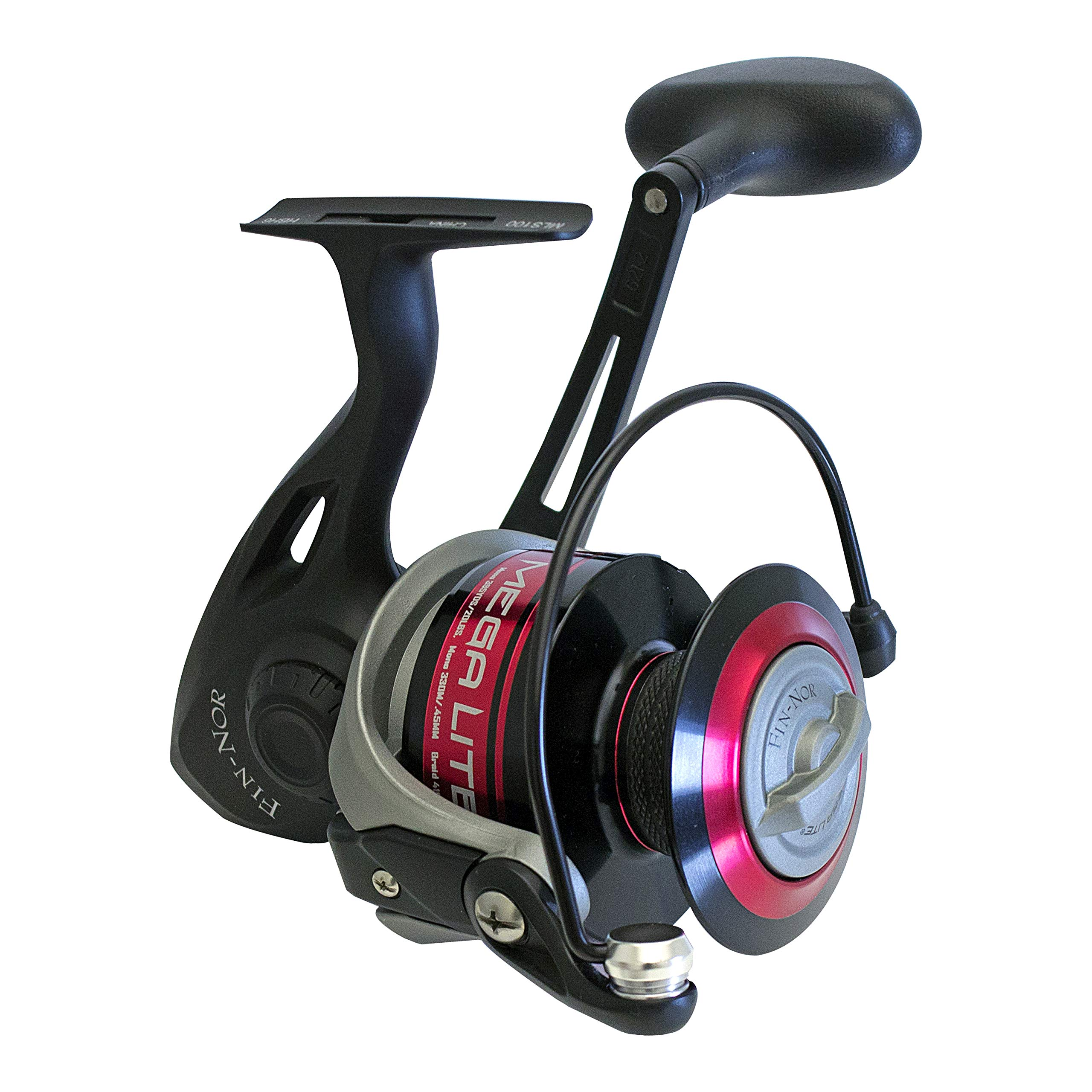 Fin Nor Mega Lite Carrete Spinning de Pesca, 60: Amazon.es ...