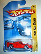 FERRARI Hot Wheels 2008 New Models Series # 33 of 40 - Red Luxury Sport Coupe Ferrari FXX 1:64 Scale Collectible Die Cast Car