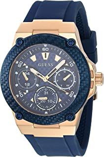 Guess Women's W1094L2 Year-Round Analog Quartz Blue Watch