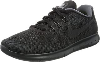 Nike Womens Free RN 2017 Running Shoe (9.5 B(M) US, Black/Anthracite Dark Grey)