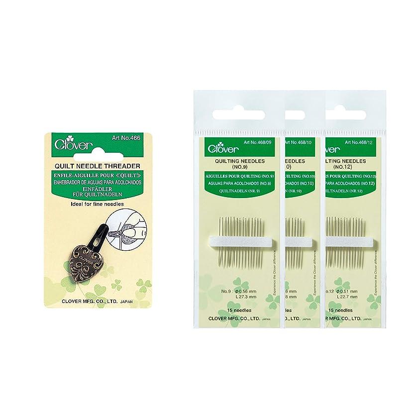 Clover E018 Quilt Bundle Needle Threader, Multiple 5