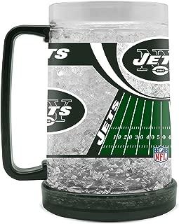 NFL New York Jets 16oz Crystal Freezer Mug