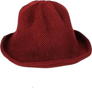 WIM Wool Winter Floppy Short Brim Womens Bowler Fodora Hat DWB1105