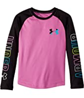 Under Armour Kids Splatter Raglan Tee (Little Kids)