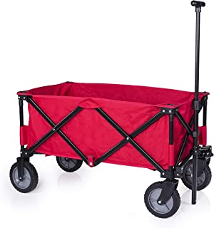 Campart Travel Foldaway Trolley - Red, Medium, HC-0911