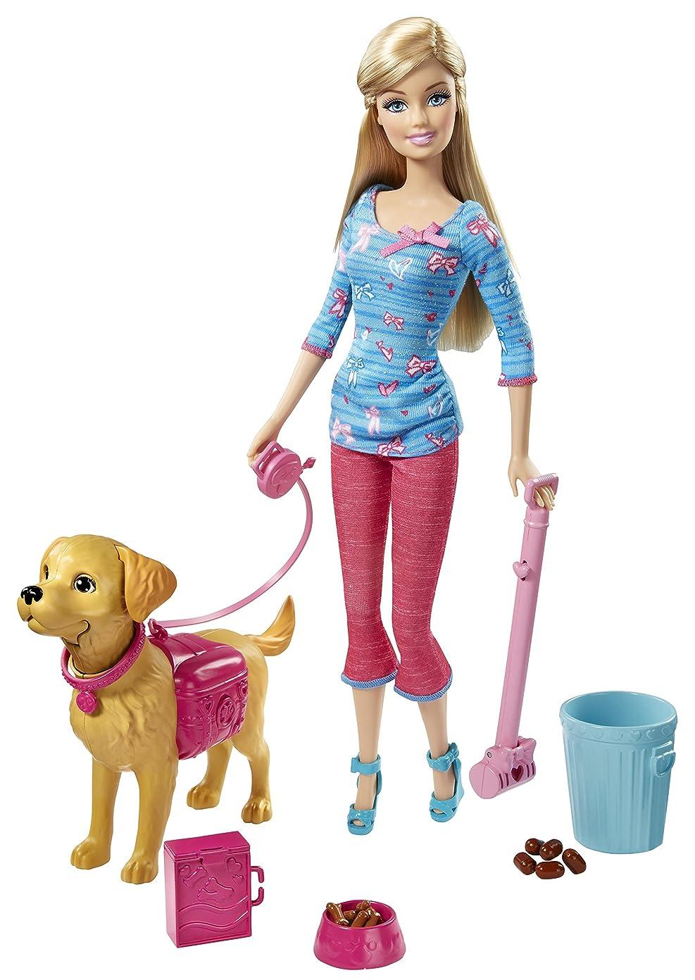 国勢調査化学者ビジネスバービー BARBIE 人形 ペット タフィ 犬のしつけ プレイセット[並行輸入品]