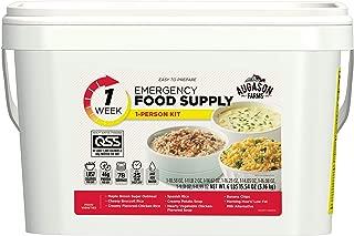 Augason Farms 1-Week 1-Person Emergency Food Supply Kit 6 lbs 15 oz
