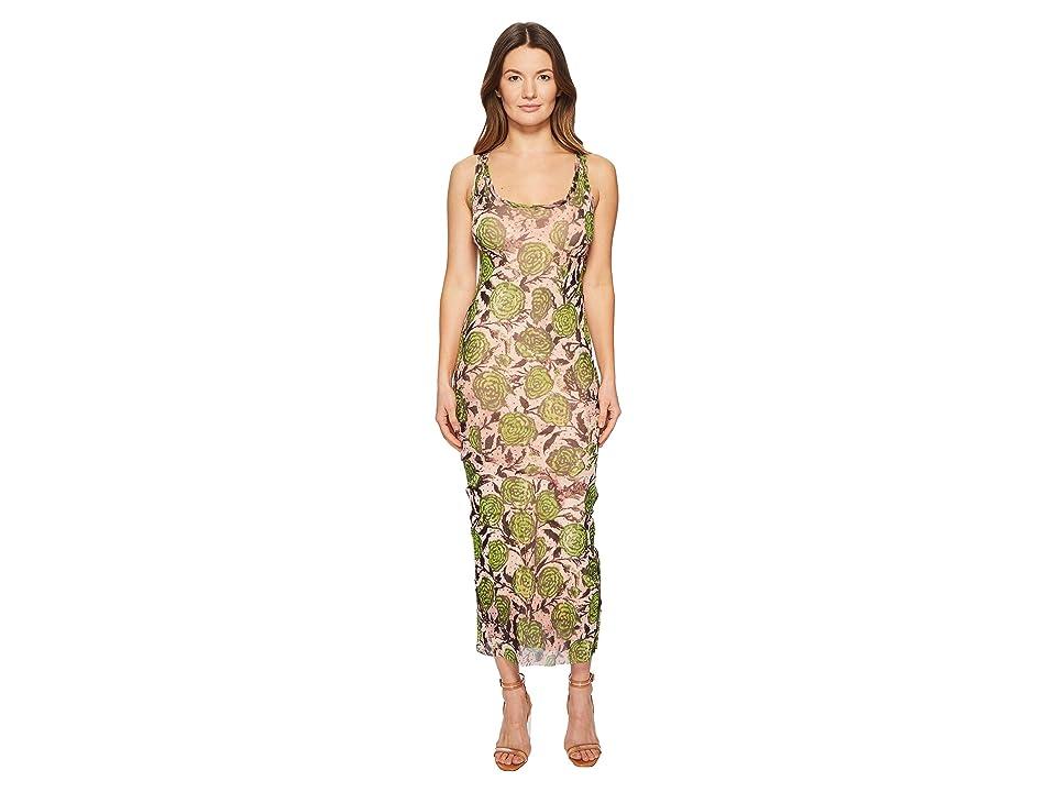 FUZZI Tank Dress with Side Buttons (Petalo) Women