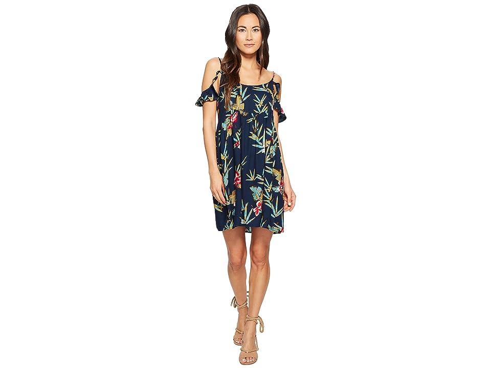 Roxy Do It My Way Dress (Dress Blue Isle) Women