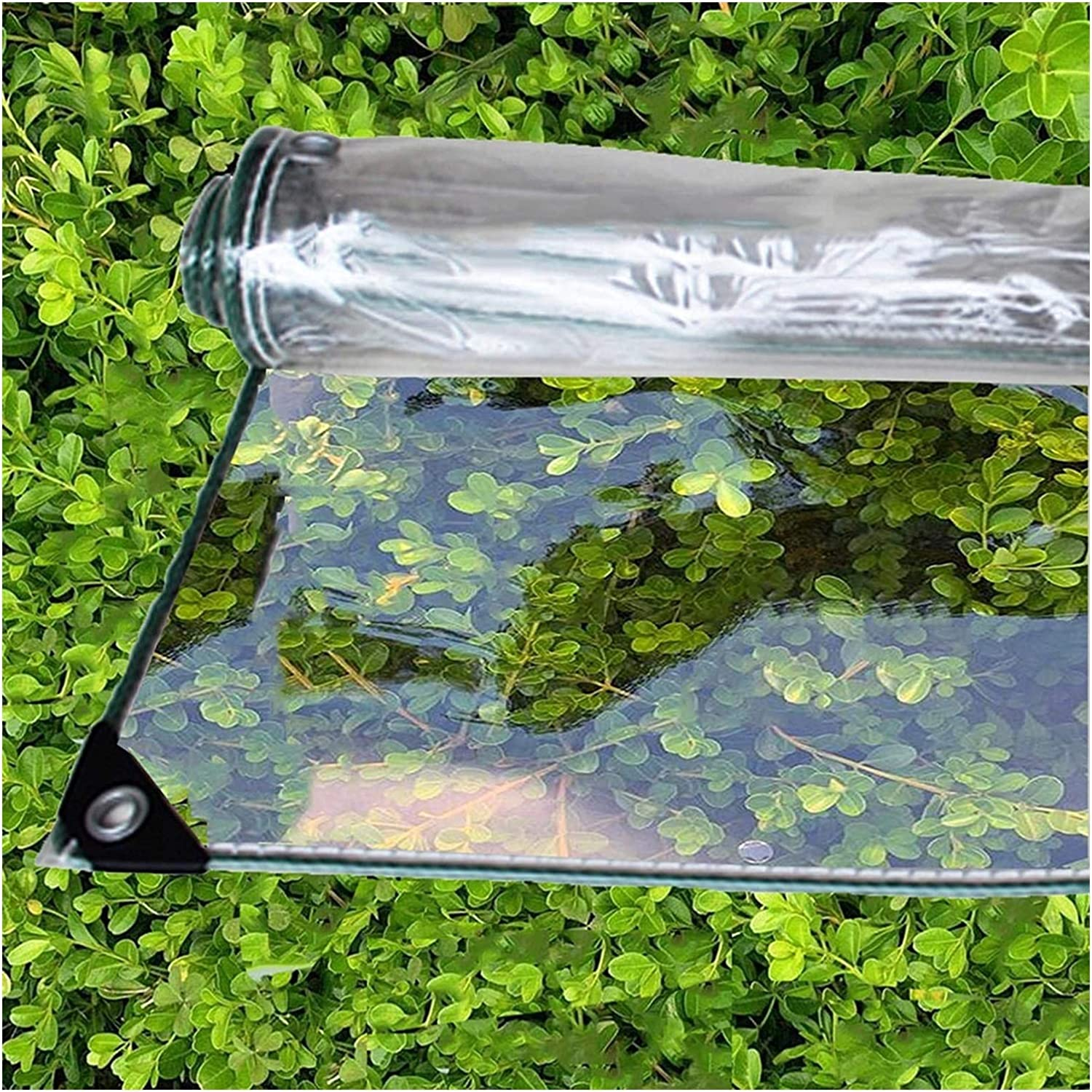 ASPZQ Spring new work Transparent Tarpaulin free shipping Easy to Install Stability Patio High