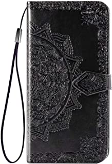 FanTing Case for Motorola Moto E7 Plus,Mobile Wallet Flip Cover with Mobile Phone Holder and Card Slot,Magnetic PU leather...