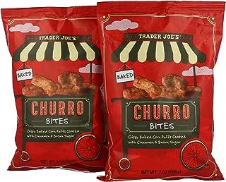 Trader Joe's Baked Churro Bites 7 OZ (198g) - 2 PACK