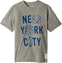 New York City Short Sleeve Vintage Tri-Blend Tee (Big Kids)
