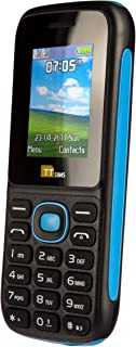Dual Sim TT120 Mobile Phone - Camera - Bluetooth - Cheapest Twin 2 Sim Phone - Blue