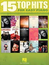 Hal Leonard 15 Top Hits For Easy Piano - 2012 Edition
