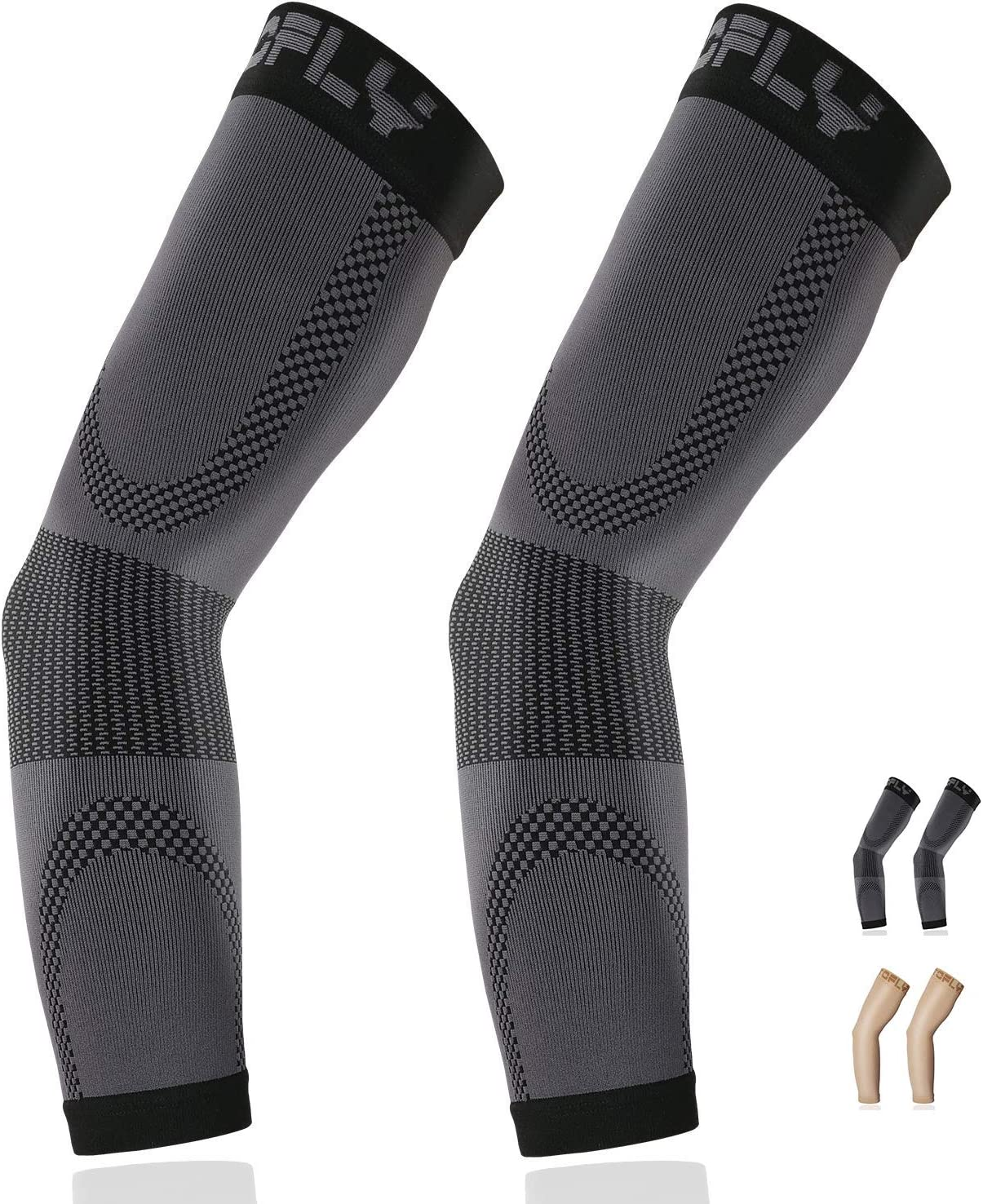 Compression Arm Sleeve 1 Genuine Fresno Mall Free Shipping Pair Graduated Unisex C 20-30mmHg for