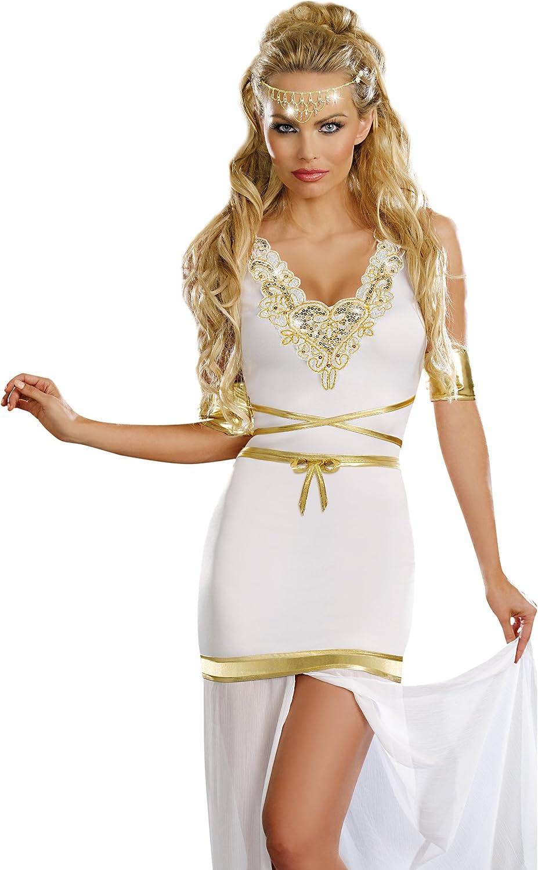 Aphrodite Greek Goddess gown