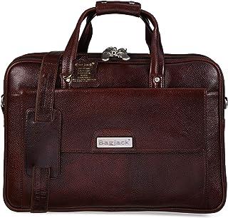 BAG JACK - Eridanus - I Dimension and Impressive | handcrafed | Natural Grain Leather | Men Office Bag | Leather Laptop Ba...