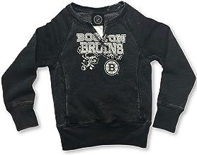 OTS Boston Bruins Girl's V-Notch Sweatshirt